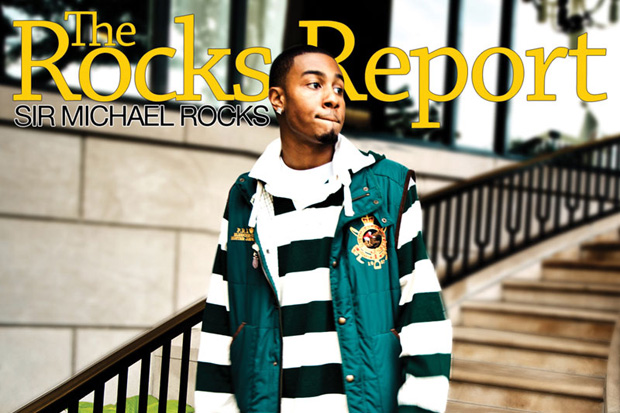 Sir Michael Rocks from The Cool Kids has been dropping some bangers lately.  Here's the full mixtape, The Rocks Report.  Listen to the whole thing and download below.