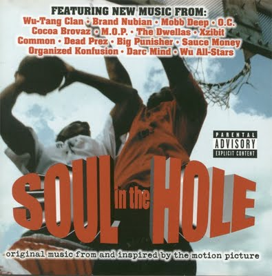 Need more basketball in your life?  Check out Soul in the Hole a 90's documentary on New York street ball.  The soundtrack that accompanied it was a classic filled with some of the greatest names in hip-hop:  Wu-Tang Clan, Brand Nubian, Mobb Deep, O.C., Common, M.O.P., Big Pun, Organized Konfusion…Check out the full movie and a playlist from the soundtrack below.