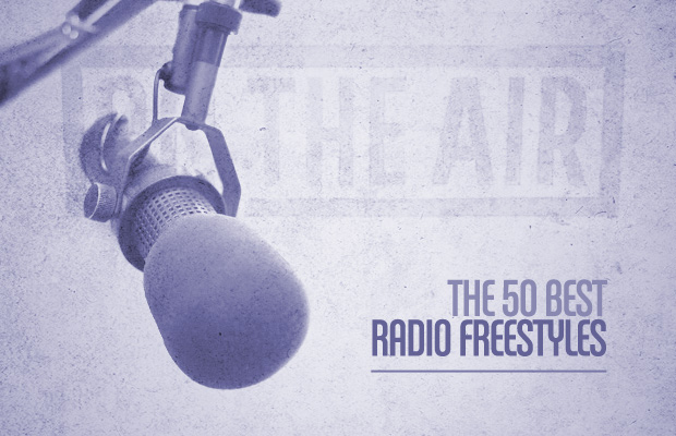 Here are The 50 Best Radio Freestyles, according to Complex.  They discuss each freestyle AND provide audio for each one.  It includes freestyles from Tribe, Wu, Snoop, Kanye, Common, Biggie, Nas, Eminem, Jay-Z and many, many more.  It's unbelievable.  Just classic.