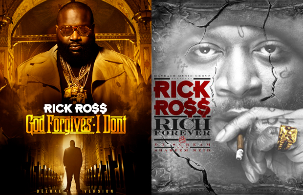 Rich Forever vs. God Forgives, I Don't:  Which Rick Ross Project is better?