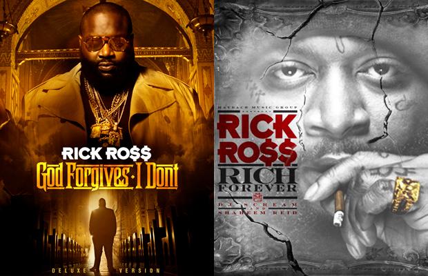 Rick Ross - Rich Forever vs. God Forgives, I Don't