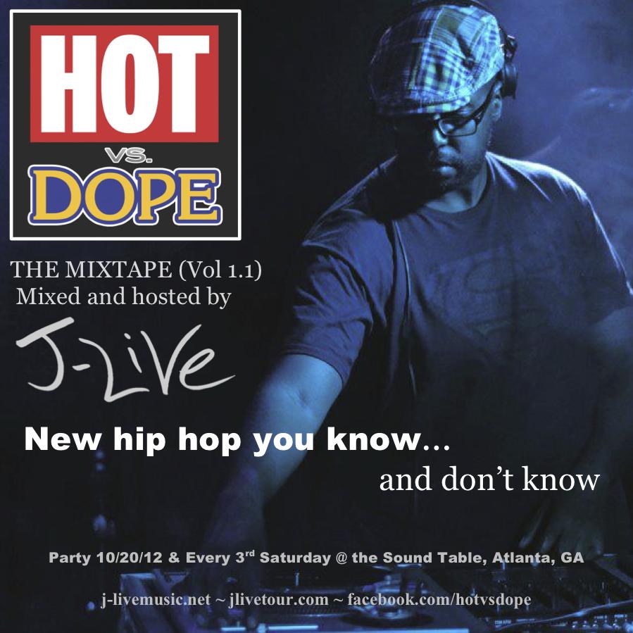 J-Live - Hot vs Dope Vol. 1 (Mixtape)