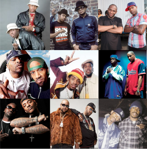 Twenty-Two 2's:  A playlist of some of the best 1-2 combos in hip-hop (Playlist)
