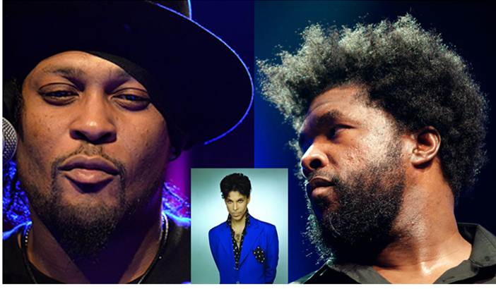 Questlove and D'Angelo discuss their mutual love of Prince (Video)