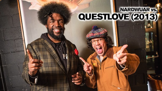 Nardwaur vs. ?uestlove (Video)