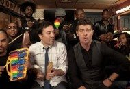 Robin Thicke & The Roots Perform Blurred Lines (Pre-School Style) (Video)