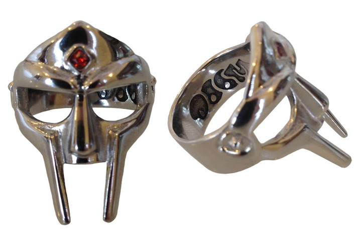 MF DOOM Has $100 Mask Rings For Sale