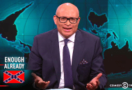 Are Comedians the Only Ones Keeping It Real on TV?  Larry Wilmore Takes Down the Confederate Flag (Video)