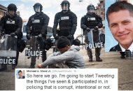 Life Behind The Badge In Baltimore: One Officer Speaks Out On Corruption & Systematic Racism (Video)