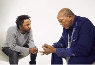 Quincy Jones Passes His Torch of Knowledge & Wisdom About Music & Life to Kendrick Lamar (Video)