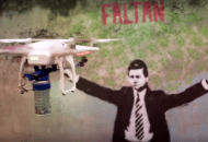 The Graffti Drone Is Real, & She Is Helping Give Power To The People (Video)