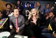 Adele Sings Hello While Fallon & The Roots Play Classroom Instruments. Still Amazing! (Video)