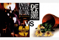 Wu-Tang Clan's Enter The Wu-Tang (36 Chambers) vs. De La Soul's De La Soul Is Dead. Which Is Better?