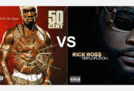 50 Cent's Get Rich Or Die Tryin' vs. Rick Ross' Teflon Don. Which Is Better?