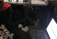 """Andre 3000 & Kanye West Are Surfing """"Waves"""" In The Studio Together"""