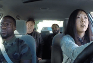 Ice Cube, Kevin Hart & Conan Go for a Ride Along With a Student Driver (Video)