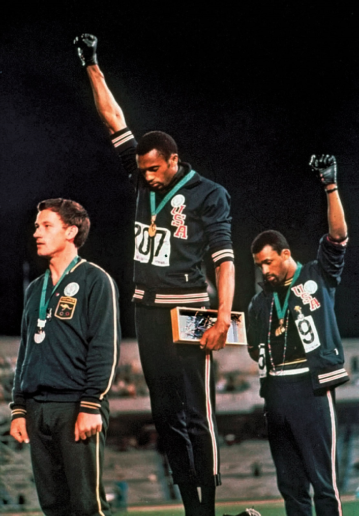 Black Power Salute Tommie Smith and John Carlos at the