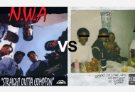 N.W.A.'s Straight Outta Compton vs. Kendrick Lamar's good kid, m.A.A.d city. Which Is Better?