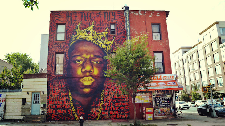 Biggie Smalls Mural Brooklyn Of Brooklyn Makes May 21 The Notorious B I G Day Video