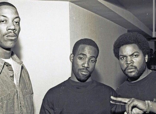 DJ Pooh, Threat, and Ice Cube.