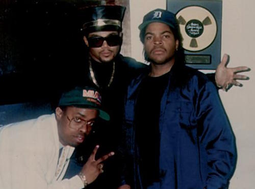 Sir Jinx, D.M.C., and Ice Cube