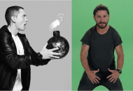 Shia LaBeouf Says Compare Him To Eminem. Is He Really Da Bomb? (Audio)