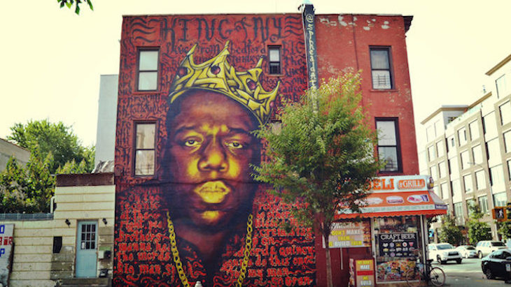 Dead wrong a bed stuy mural of biggie smalls is coming down for 2pac mural new york