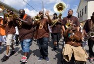 The Hot 8 Brass Band Prove Can't Nobody Get Down Like New Orleans (Video)