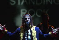 Vic Mensa's Latest Performance Makes A Powerful Plea For World Peace (Video)